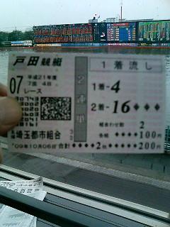 戸田競艇必勝法炸裂!