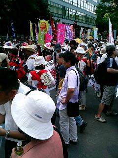 全然動かんパレード