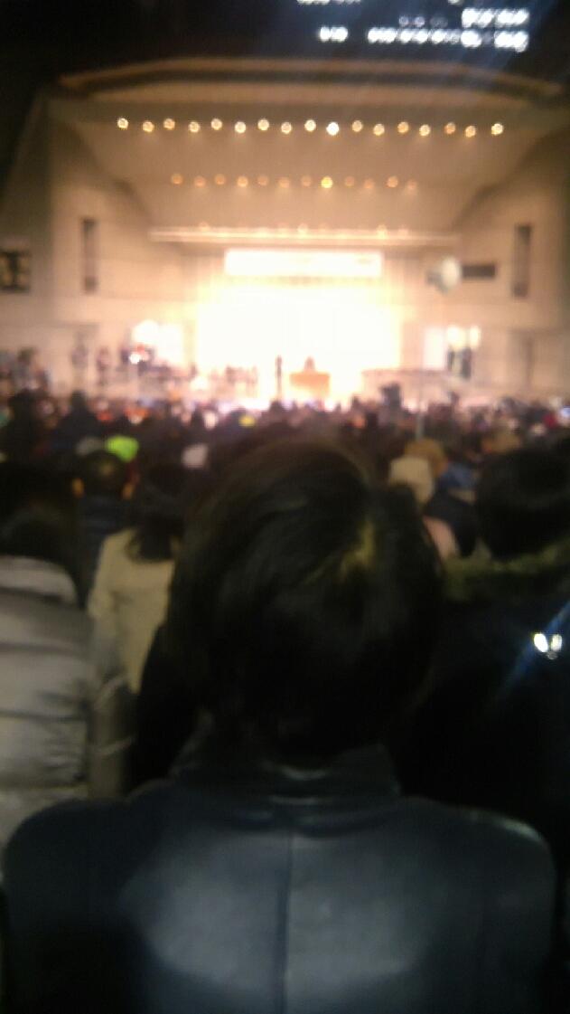 日比谷野音の外にも7千人!